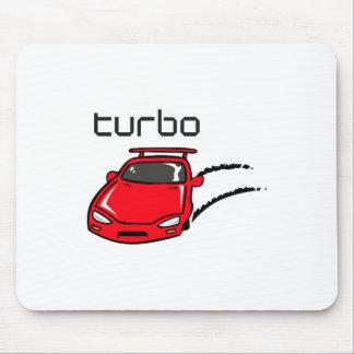 TURBO CAR MOUSE PAD