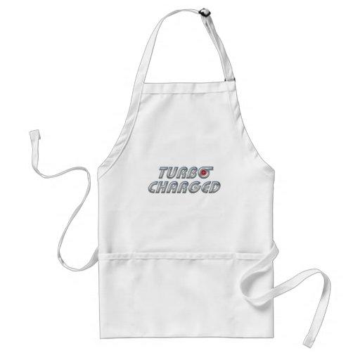 Turbo cargó delantal