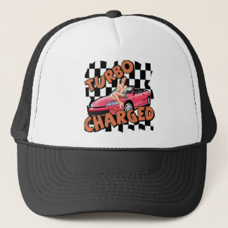Turbo Charged T-shirts and Gifts For Him Trucker Hat