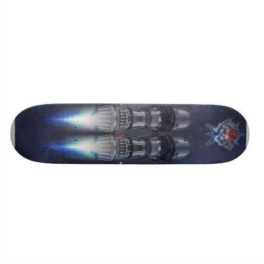 turbo engine skateboard deck