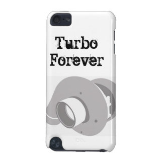 Turbo Forever turbocharger Ipod touch custom case iPod Touch 5G Cases