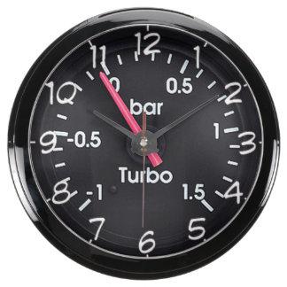"""""""Turbo gauge"""" design wall clocks Aquarium Clock"""