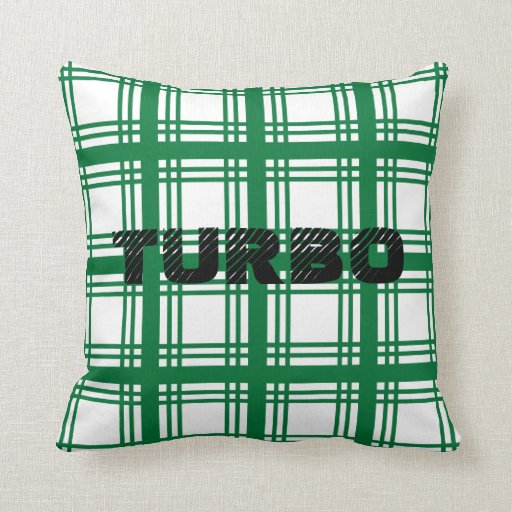 Turbo (Green) Pillow