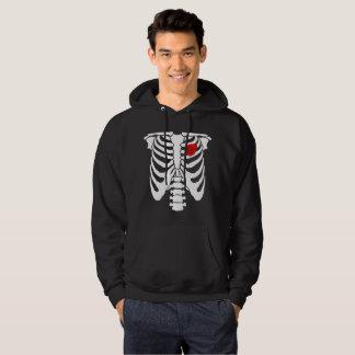 Turbo Heart Skeleton Hoodie