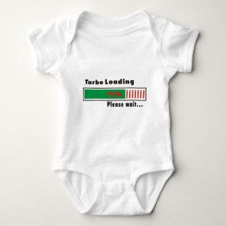 Turbo Loading Please wait Baby Bodysuit