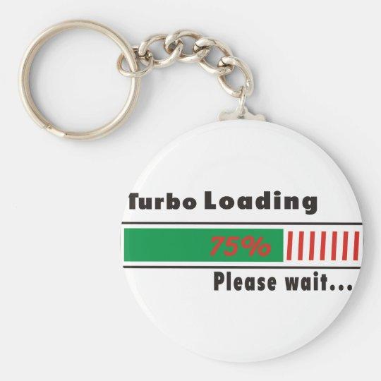 Turbo Loading Please wait Keychain
