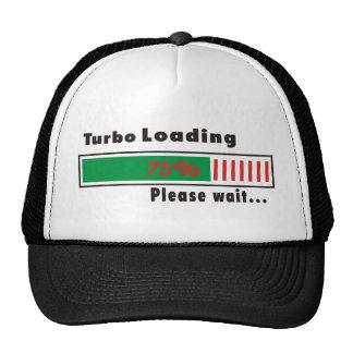Turbo Loading Please wait Trucker Hat