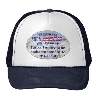 turbo los E.E.U.U. timmy Gorras De Camionero