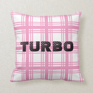 Turbo (Pink) Pillow
