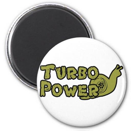 Turbo Power Fridge Magnets