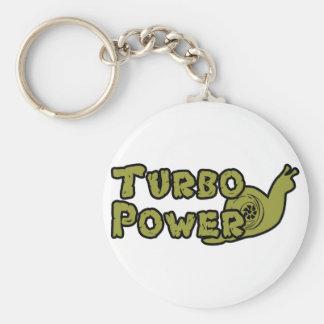 Turbo Power Key Chain