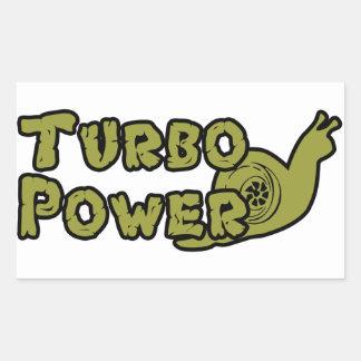 Turbo Power Stickers