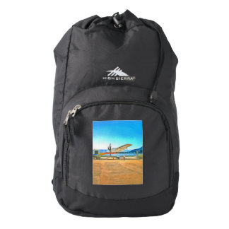 Turbo Prop plane Backpack