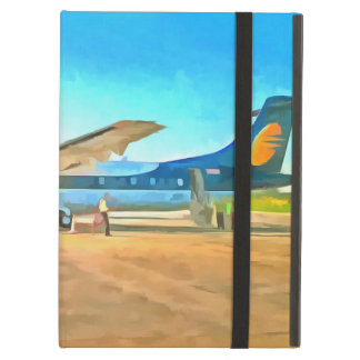 Turbo prop plane case for iPad air