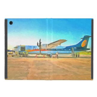 Turbo prop plane case for iPad mini