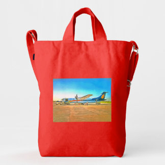 Turbo Prop plane Duck Bag