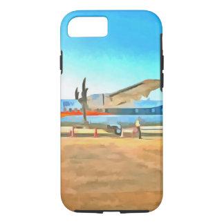 Turbo prop plane iPhone 8/7 case