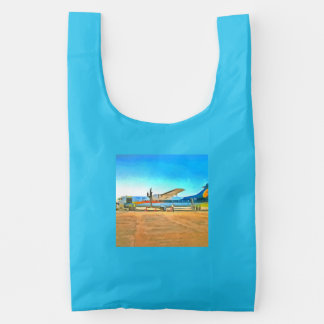 Turbo Prop plane Reusable Bag