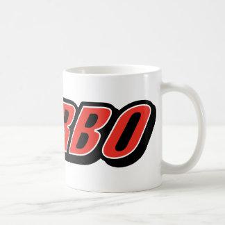 Turbo ~ Race Car Racing Classic White Coffee Mug