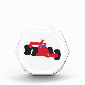Turbo racing car acrylic award