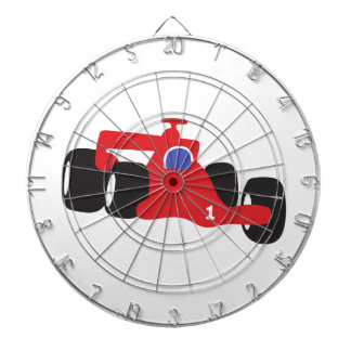Turbo racing car dart board