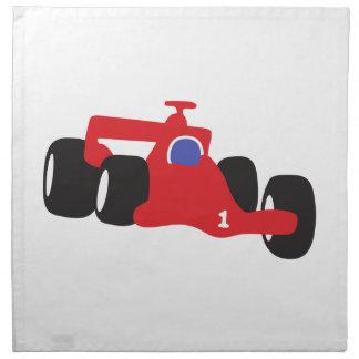 Turbo racing car napkin