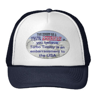 turbo timmy usa trucker hat