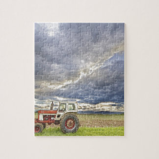 Turbo Tractor Country Evening Skies Puzzles