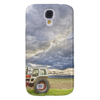 Turbo Tractor Country Evening Skies Samsung Galaxy S4 Cover