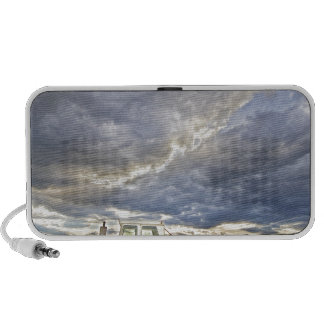 Turbo Tractor Country Evening Skies Travel Speakers