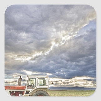 Turbo Tractor Country Evening Skies Stickers
