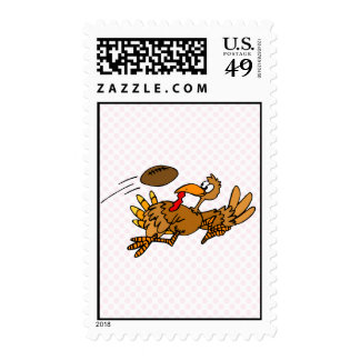Turbo Turkey Postage Stamps