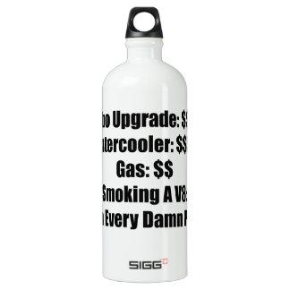 Turbo Upgrade Intercooler Gas Smoking a V8 Worth E Aluminum Water Bottle