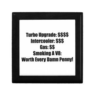 Turbo Upgrade Intercooler Gas Smoking a V8 Worth E Jewelry Box