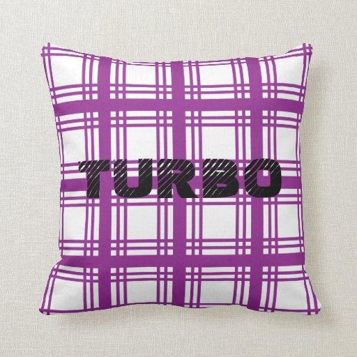 Turbo (Violet) Pillow