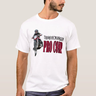 Turbocharged PRO COMP dragbike T-shirt