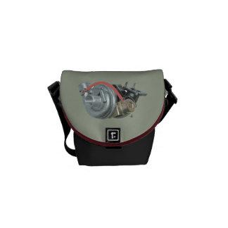 Turbocharger Messenger Bag