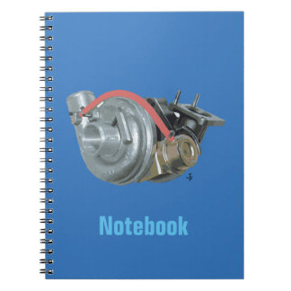 Turbocharger Notebook