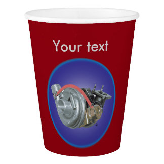 Turbocharger Paper Cup