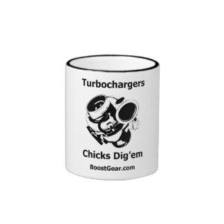 Turbochargers - Chicks Dig em - Coffee Mug
