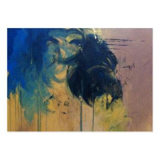 Turbulence ( Modern Abstract )-Kimberly Turnbull Business Card Template