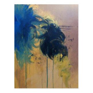 Turbulence ( Modern Abstract )-Kimberly Turnbull Postcard