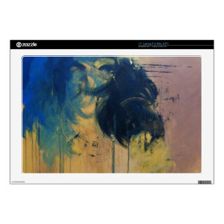 "Turbulence ( Modern Abstract )-Kimberly Turnbull Skin For 17"" Laptop"