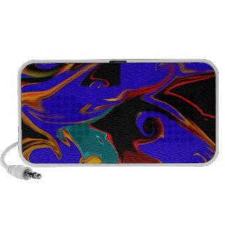 turbulencia -- una representación abstracta iPhone altavoz