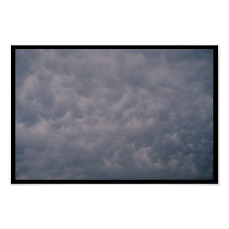 Turbulent Clouds Poster
