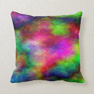 Turbulent Plasma Clouds Throw Pillow