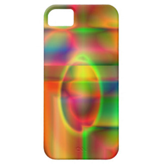turbulent rainbow iPhone SE/5/5s case