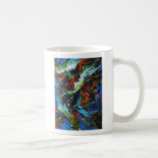 turbulent space classic white coffee mug