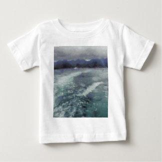 Turbulent wake baby T-Shirt