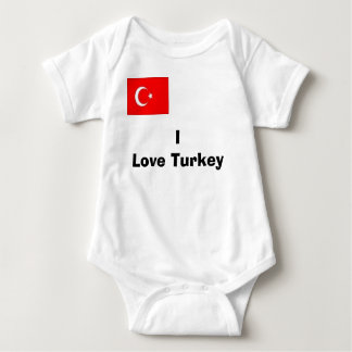 turco, amo Turquía Playeras